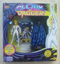 Cloak & Dagger Marvel Famous Couples limited edition action figures Toy Biz 1997