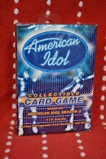 NEW American IDOL Season 3 Collectible CARD Game Collect William Hung She Bangs