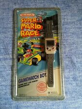 Gamewatch Boy Nintendo Super Mario Race Lcd Vintage 1992 New /Nuovo