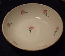 Ceramica di Mondovì antico catino decoro fiori - prod. Vedova Besio e figli