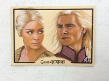 KHALEESI GAME OF THRONES 4 SKETCH CARD ART ACEO LIMITED PRINT OF ORIGINAL 1/10