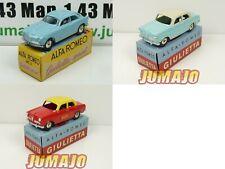 Bundle 3 Car 1/48 Mercury Hachette: Alfa Romeo Giulietta Taxi / Sprint