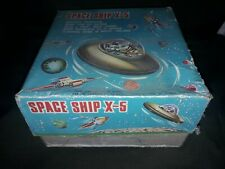 SPACE SHIP X 5 vintage toys in box MADE IN TAIWAN
