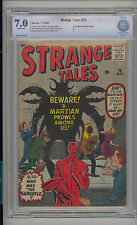 Strange Tales #78 CBCS 7.0 FN/VF Atlas Marvel Scarce Ant-Man Prototype OW Pages
