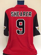 Blackburn Rovers SHEARER 95/96 Away Football Shirt (XL) Soccer Jersey