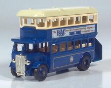 Lledo Days Gone 1932 AEC Regent Double Deck Bus R.A.C. RAC Coach Scale Model