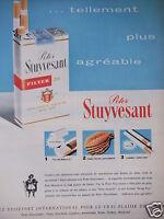 PUBLICITÉ 1962 PETER STUYVESANT CIGARETTE TELLEMENT PLUS AGRÉABLE - TABAC