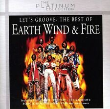 Earth Wind and Fire Let S Groove The Best of CD Album Columbia
