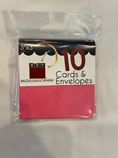 Bazzill Basics Paper Cards & Envelopes 10 Pack 3