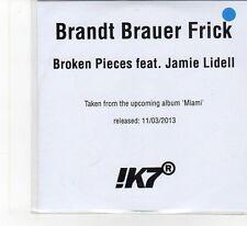 (FB344) Brandt Brauer Frick, Broken Pieces ft Jamie Lidell - 2013 DJ CD