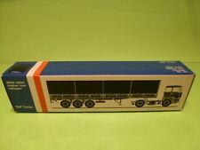 LION CAR 70 DAF TRUCKS 2800-3300 TRAILER - 1:50 GOOD - * ONLY EMPTY BOX * (9)