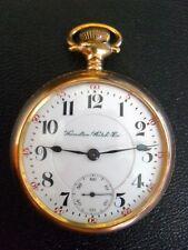 "Hamilton Grade# 940 21J. 18 Size Pocket-Watch, ""Beautiful Timepiece""  L@@K"