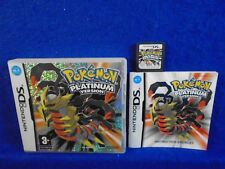 ds POKEMON PLATINUM VERSION Lite DSI 3DS RPG Nintendo PAL UK GENUINE VERSION