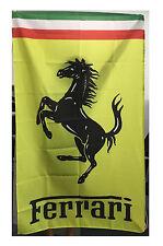 New flag for Yellow Ferrari Flag Car Banner Flags Free Shipping