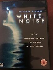 White Noise DVD with Michael Keaton