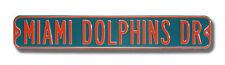 Miami Dolphins Drive Heavy Duty Street Sign