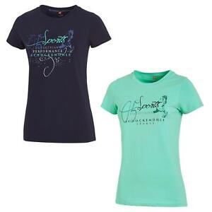 """Schockemöhle SPORTS Damen T-Shirt, Damenshirt """" SCH_SILVIA """""""