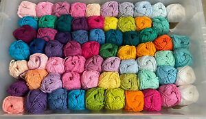 HUGE JOB LOT SHEEPJES CAHLISTA YARN. 67 In Total (1 Part Used) Rest Are NEW!!