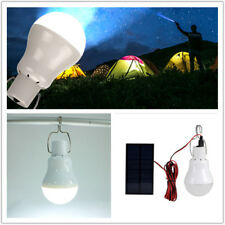 Solar Power LED Bulb Lamp Outdoor Portable Hanging Lighting Camp Fishing Lantern