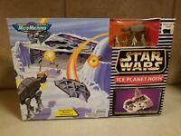 1996 Star Wars Micro Machines Ice Planet Hoth Transforming Action Set