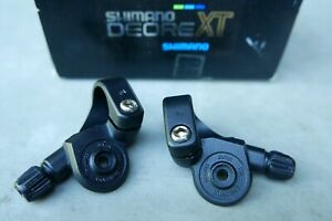 NOS Shimano DEORE XT M732 SIS INDEX thumb shifter mounts vtg mtb Ritchey Merlin