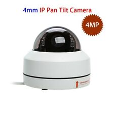 Smart IP 4MP Camera PT Dome IR Night Vision HD 1080P For Indoor/Outdoor Monitor
