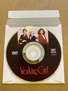 (DVD DISC ONLY) Working Girl (1988) Melanie Griffith Harrison Ford Movie