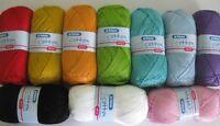 Patons 100% Cotton 4ply 100g VARIOUS SHADES pure mercerised bright shades