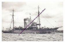 rp13215 - Royal Navy Sub Depot Ship - HMS Alecto , built 1912 - photograph 6x4