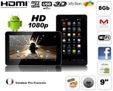 Tablette PC Ecran 9 Pouces Tactile Andoid HDMI  1080P WIFI 8Go