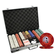 650PC 14G  YIN YANG CASINO CLAY POKER CHIPS SET WITH ALUMINUM CASE