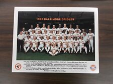 1982 Baltimore Orioles Team Photo CAL RIPKEN Rookie Year, Eddie Murray (Gulf)