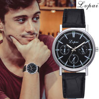 Lvpai Brand Casual Fashion Quartz Leather Band Watch Analog Wrist Watch