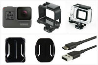 Refurbished GoPro HERO 5 Black Waterproof Action 4K Ultra HD Camera case Frame