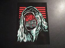 ROCKETS ARE Red 5X7 Postcard BOUNCING SOULS poster print Everett gaslight anthem