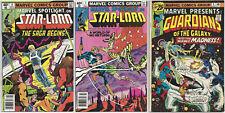 MARVEL SPOTLIGHT #6, #7: Origin Star-Lord: +Marvel Presents #4: Guardians Galaxy
