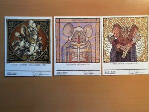 Mouse Guard Bookplates 2014 2015 2017