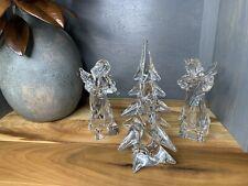 Sigma Crystal Christmas Tree (10�) and Mikasa Angles (9�)