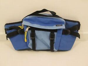 Everest Dual Water Bottle Waist Fanny Pack Hiking Sports Bag