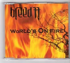 (GB81) Breed 77, World's On Fire - 2004 CD
