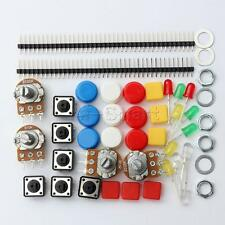 1 Set Electronic Parts Pack KIT for ARDUINO component Resistors Switch Button UK