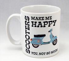 Scooter Fan Funny Personalised Birthday Mug Gift Idea Vespa Lambretta ska mod
