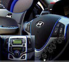 Blue FLEXIBLE TRIM FOR CAR INTERIOR EXTERIOR MOULDING STRIP DECORATIVE 5m Blue