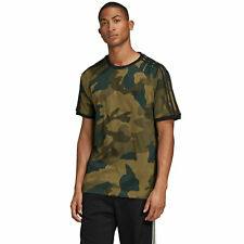 Adidas Originals California 3-Stripes Camiseta de Hombre Top Manga Corta