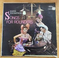 "USED! Hank Thompson: ""Songs For Rounder"" LP Vinyl Record-G"