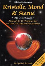 KRISTALLE , MOND & STERNE - Heilstein Lexikon mit Methusalem BUCH - NEU