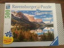 Ravensburger Premium Puzzle Large Format Beautiful Vista, 500 Pieces Complete