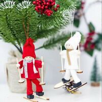 Home decor Doll Toy Xmas Tree Pendant Hanging Snowman Christmas Ornament