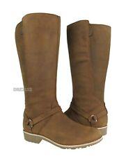 Teva De La Vina Dos Tall Bison Delavina Leather Boots Womens Size 8.5 ~NIB~