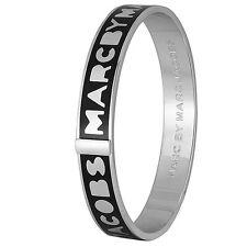 Marc By Marc Jacobs Logo Bangle Black m3pe609-80001 MSRP  $68